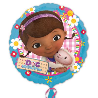 Doc McStuffins Spielzeugärztin - Folienballon