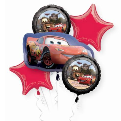 Disney Pixar Cars, 5 palloncini