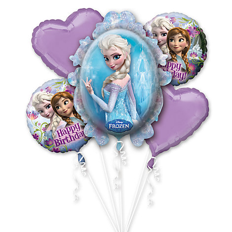 Bouquet de ballons La Reine des Neiges