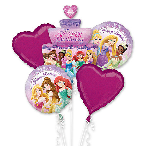 Principesse Disney, bouquet di palloncini