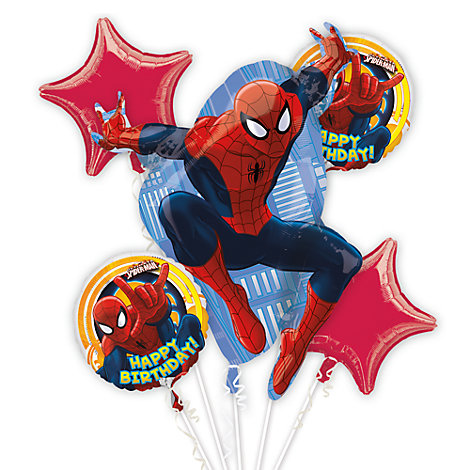 Spider-Man Balloon Bouquet
