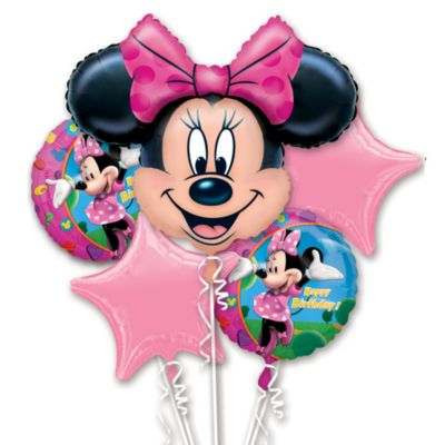 Bouquet de ballons Minnie Mouse