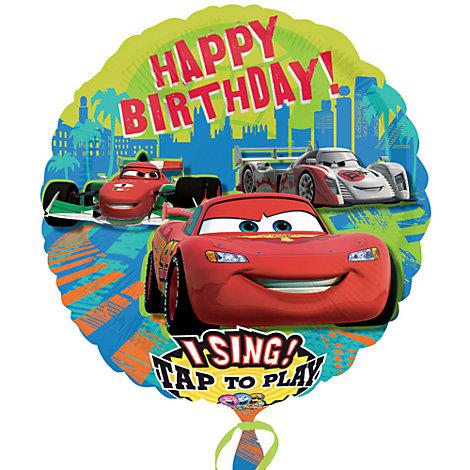 Disney Pixar Biler ballon med tale