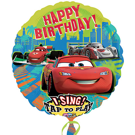 Palloncino parlante Disney Pixar Cars