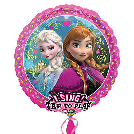 Ballon musical La Reine des Neiges
