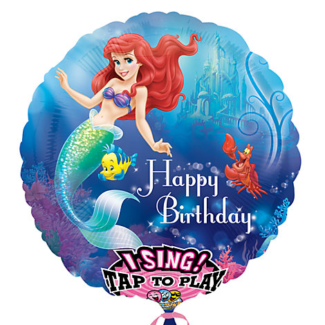 The Little Mermaid Singing Balloon