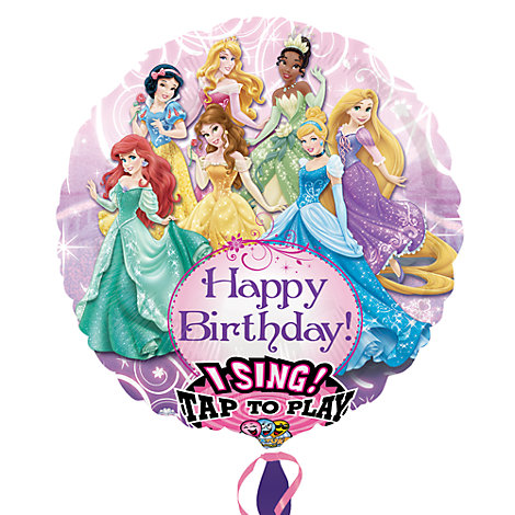 Ballon musical Princesses Disney