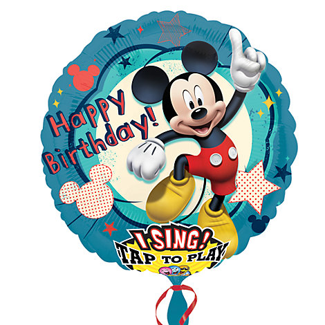 Ballon musical Mickey Mouse