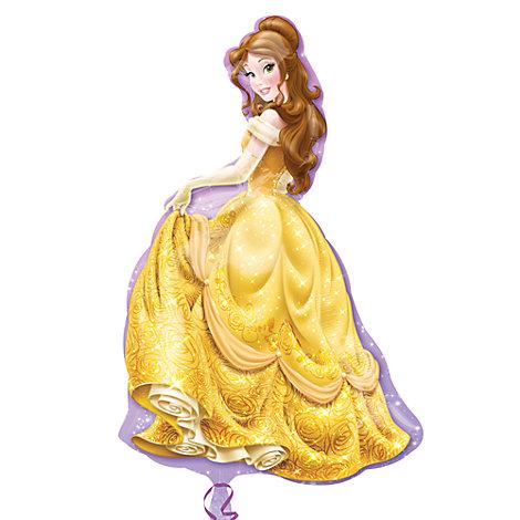Belle, palloncino sagomato grande