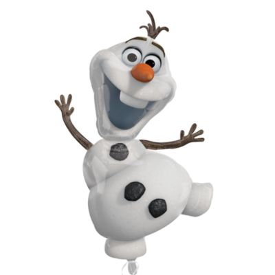Ballon en forme d'Olaf extra large
