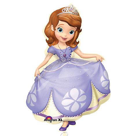 Ballon extra large Princesse Sofia
