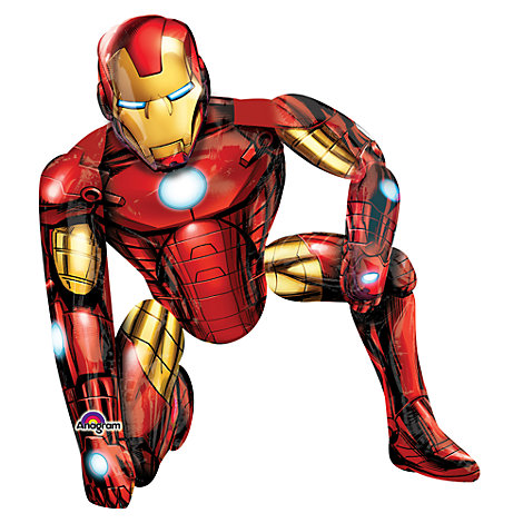 Iron Man - AirWalker-Ballon