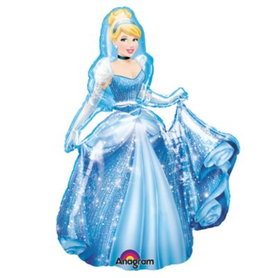 Ballon AirWalker Cendrillon