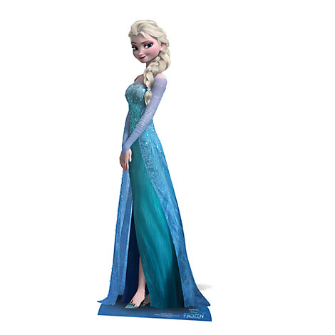 Elsa Character Cut Out