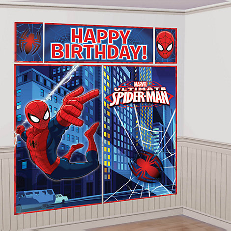 Spider-Man Party Scene Setter