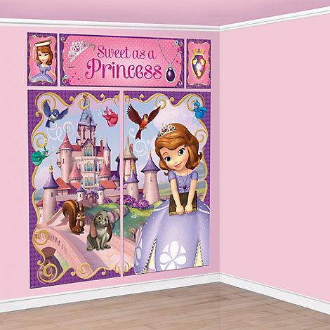 Decorado mural fiesta Princesa Sofía