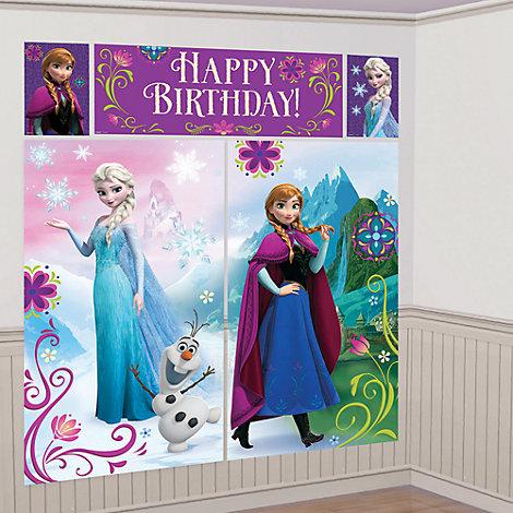 Die Eiskönigin - Wanddekorationssset