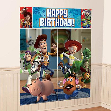Toy Story bagtæppe til festen