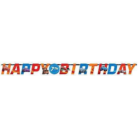 Disney Pixar Cars Personalised Birthday Banner
