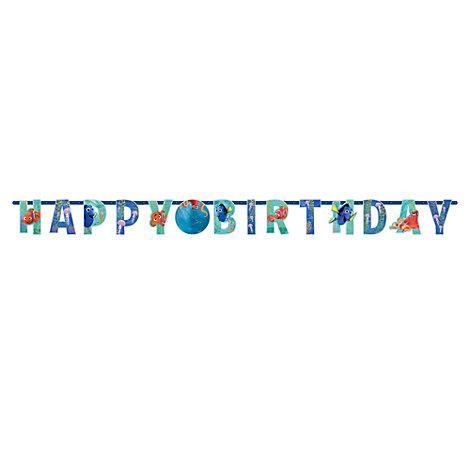 Cartel cumpleaños personalizado Buscando a Dory