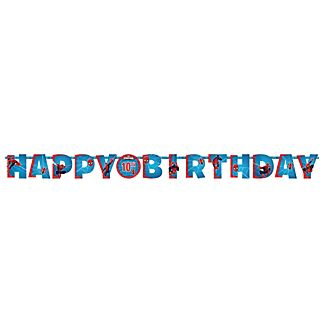 Spider-Man Personalised Birthday Banner
