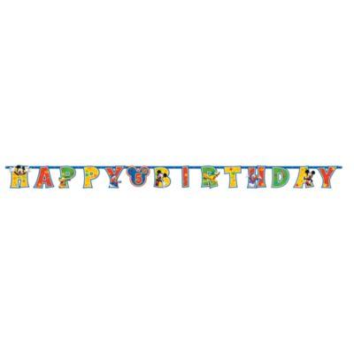 Mimmi Pigg personanpassad födelsedagsbanderoll
