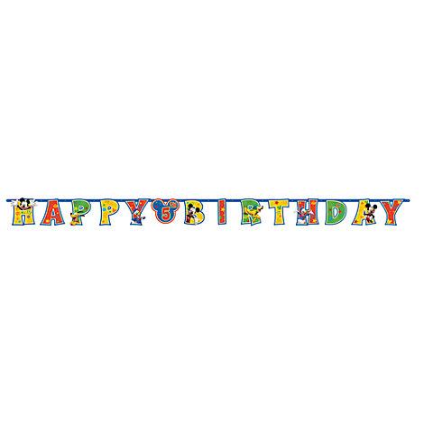 Minnie Maus - Geburtstagsgirlande personalisierbar