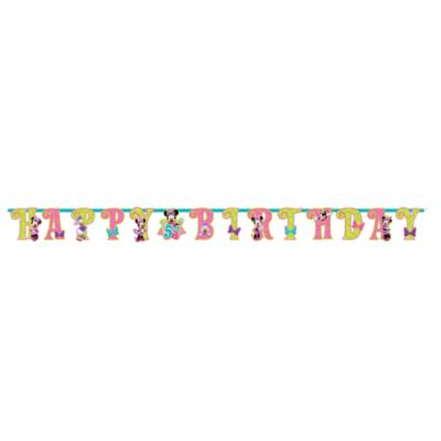 Minnie Mouse Personalised Birthday Banner