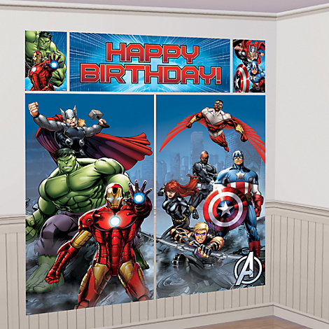 The Avengers - Wanddekorationsset