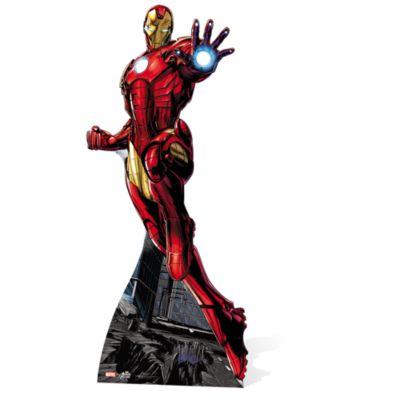 Udstanset Iron Man figur