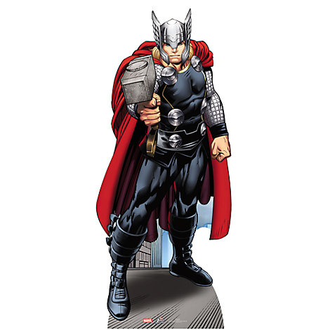 Udstanset Thor figur