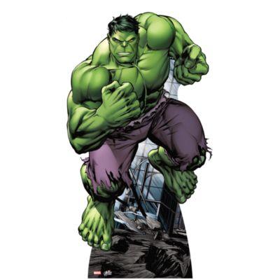 Udstanset Hulk figur