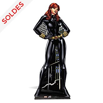 Silhouette Black Widow