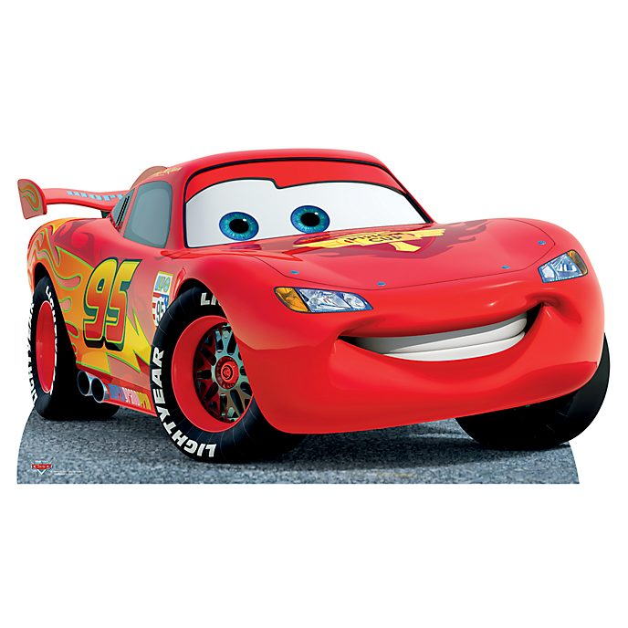 Disney store lightning mcqueen character cut out - Auto flash mcqueen ...