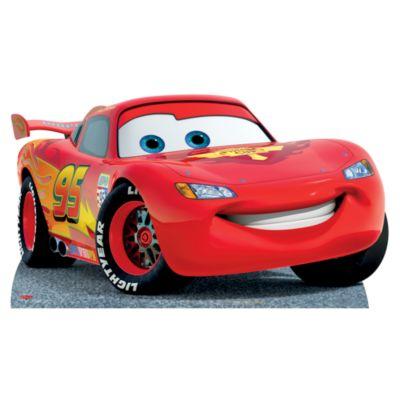 Blixten McQueen kartongfigur