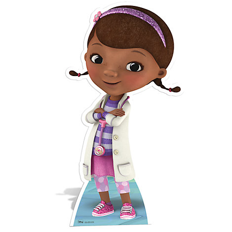 It is a photo of Persnickety Doc Mcstuffins Cutouts
