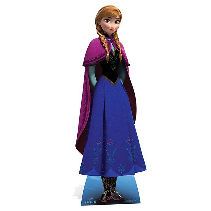 Disney Store Sagoma ritagliabile Anna, Frozen - Il regno di ghiaccio