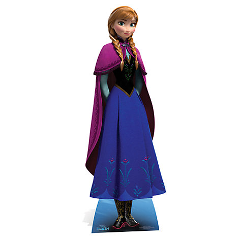 Anna Character Cut Out, Frozen