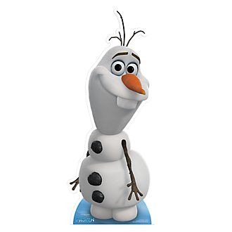 Disney Store Olaf Character Cut Out, Frozen