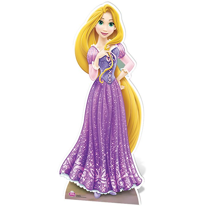 Figura troquelada Rapunzel, Disney Store