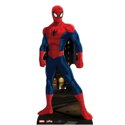 Udstanset Spider-Man figur