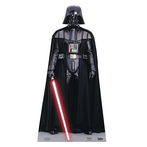 Darth Vader Character Cut Out