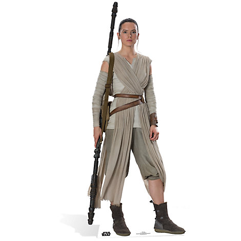 Rey Character Cut Out