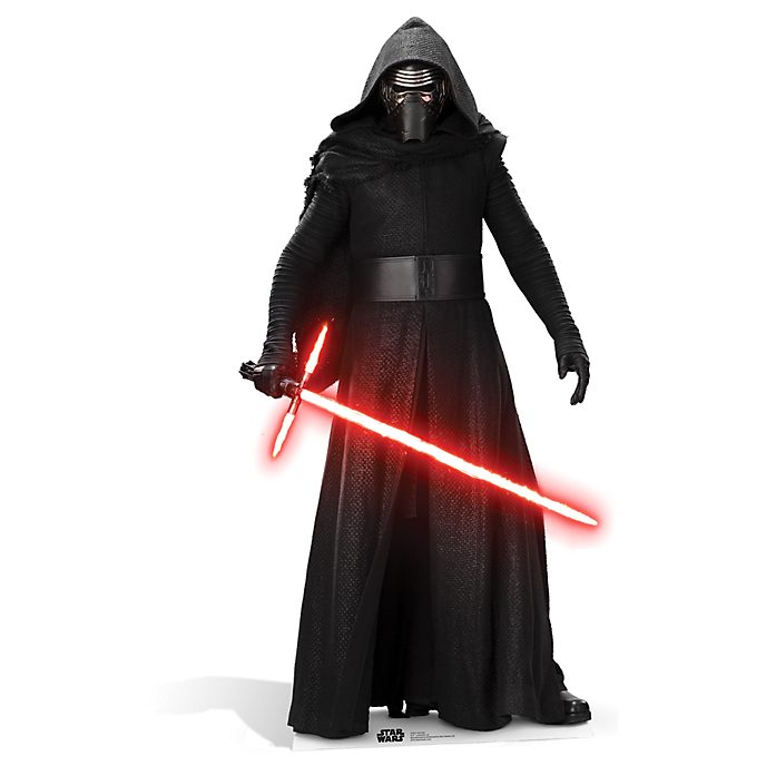 Disney Store Kylo Ren Character Cut Out