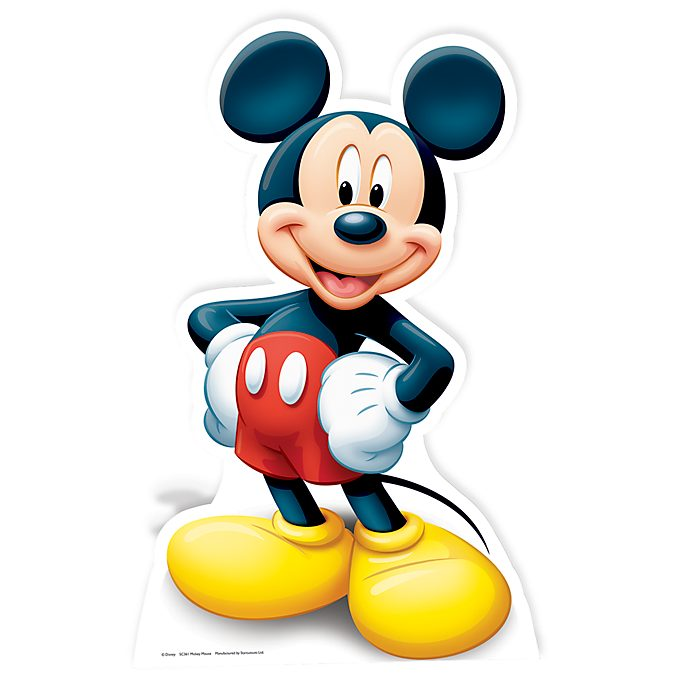 Disney Store Mickey Mouse Character Cut Out