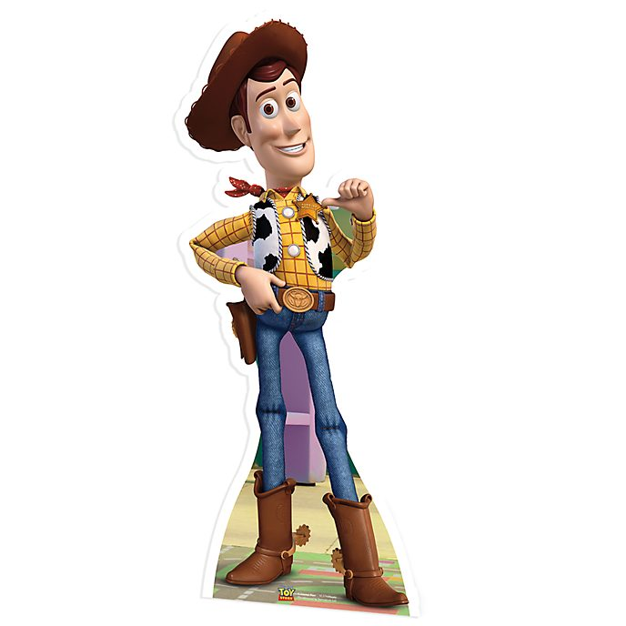 Disney Store Woody Character Cut Out