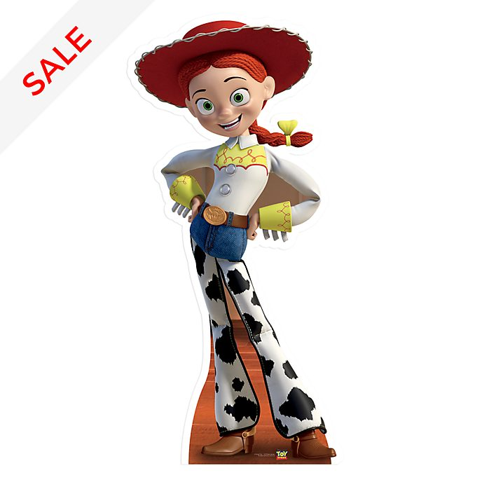 Disney Store Jessie Character Cut Out, Toy Story