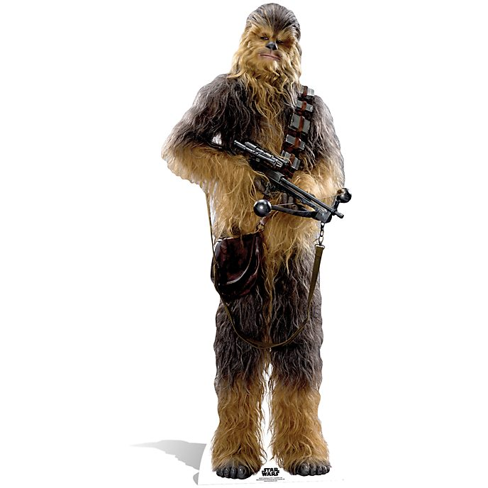 Disney Store Chewbacca Character Cut Out