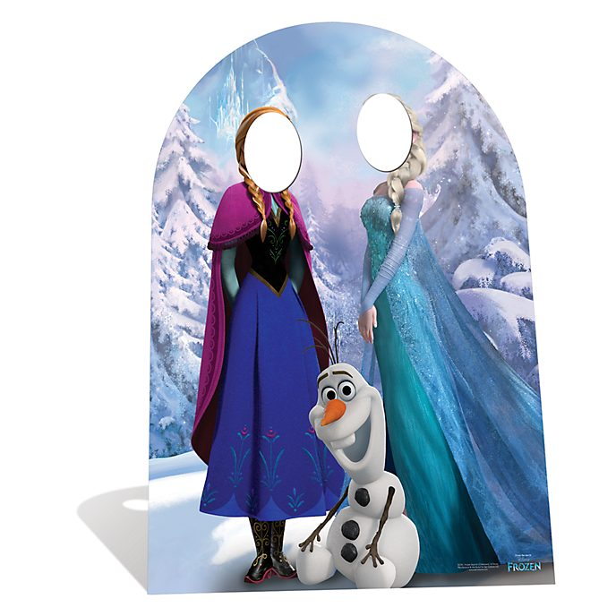 Disney Store Frozen Stand In Character Cut Out