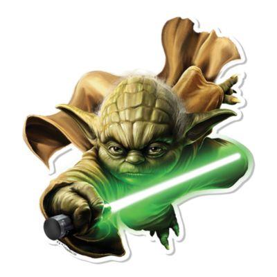 Udstanset Yoda figur